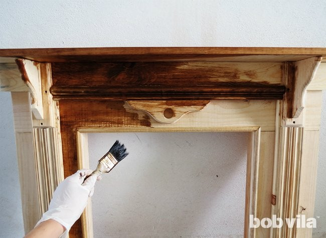 How to Build a Faux Fireplace - Step 8