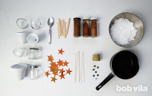 How to Make Candles - Supplies