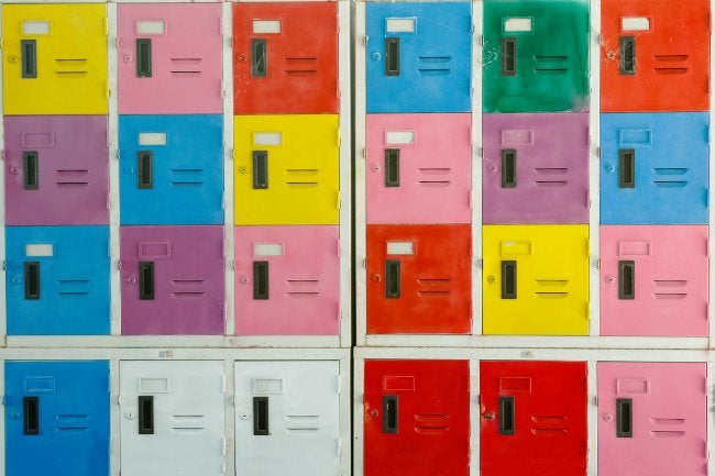 How to Paint Stainless Steel Lockers