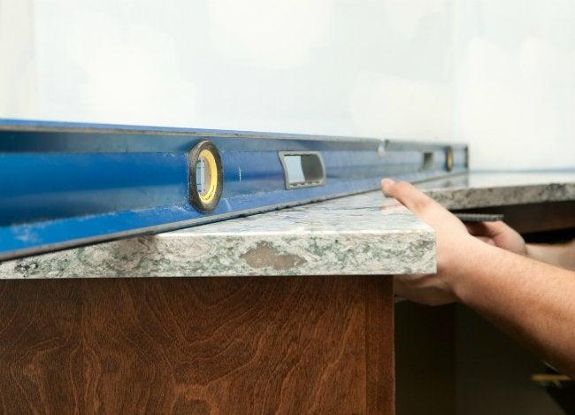 Installing Quartz Countertops