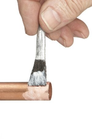 How to Sweat Copper Pipes using Plumbing Flux