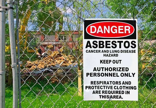 How to Test for Asbestos Before Demolition