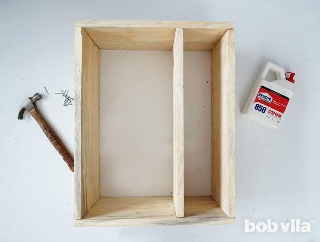 DIY Bathroom Storage - Step 3