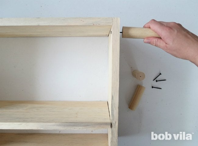 DIY Bathroom Storage - Step 6