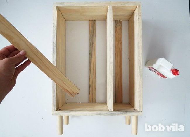 DIY Bathroom Storage - Step 7