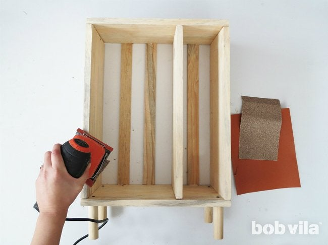 DIY Bathroom Storage - Step 9