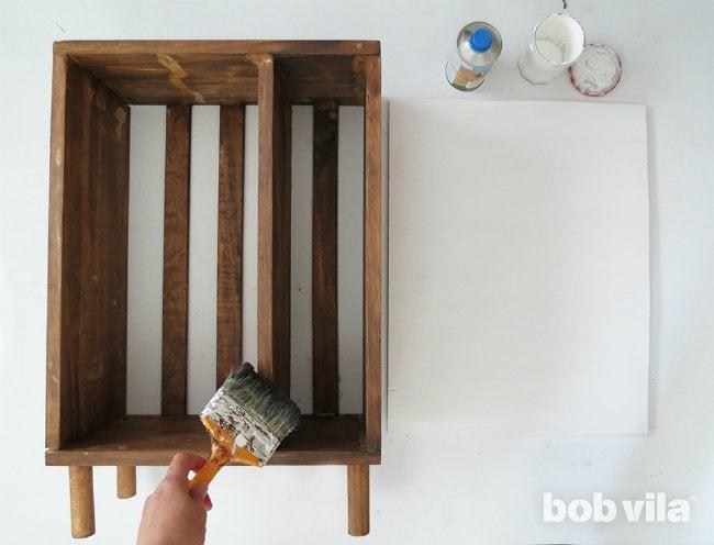 DIY Bathroom Storage - Step 10