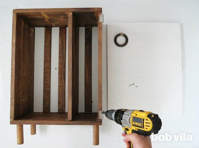 DIY Bathroom Storage - Step 11