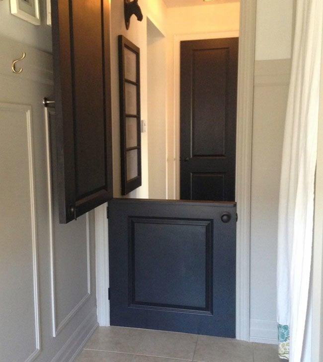 Genius! DIY Dutch Door