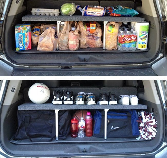 DIY Trunk Storage