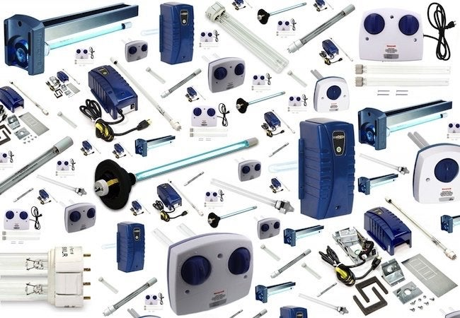 UV Air Purifiers - Product Array