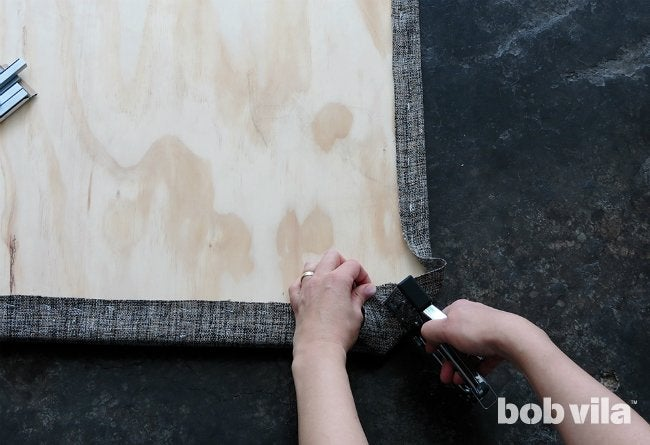 DIY Upholstered Headboard - Step 6