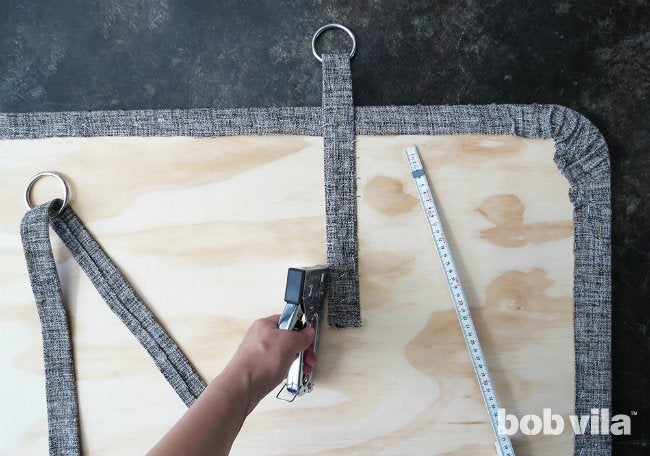 DIY Upholstered Headboard - Step 9
