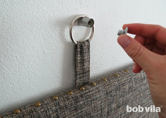 DIY Upholstered Headboard - Step 10