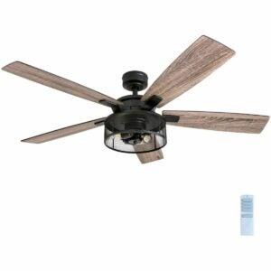 The Best Ceiling Fan Option: Honeywell Ceiling Fans Carnegie LED Ceiling Fan