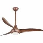 """The Best Ceiling Fan Option: Minka Aire F844-DK, Light Wave 52"""" Ceiling Fan"""