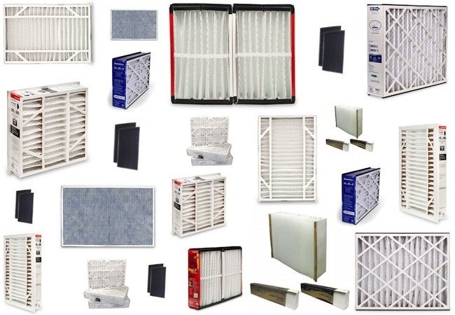 Indoor Air Pollution - Furnace Filter Array