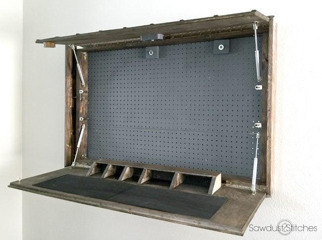 Secret Gun Storage
