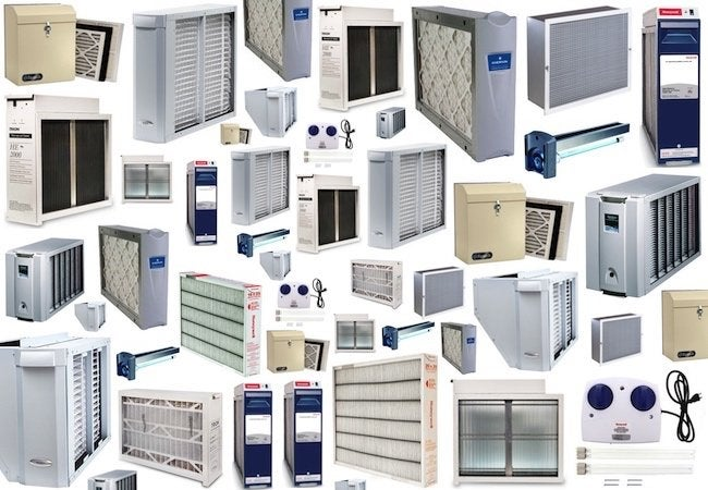 Indoor Air Pollution - Air Cleaner Array