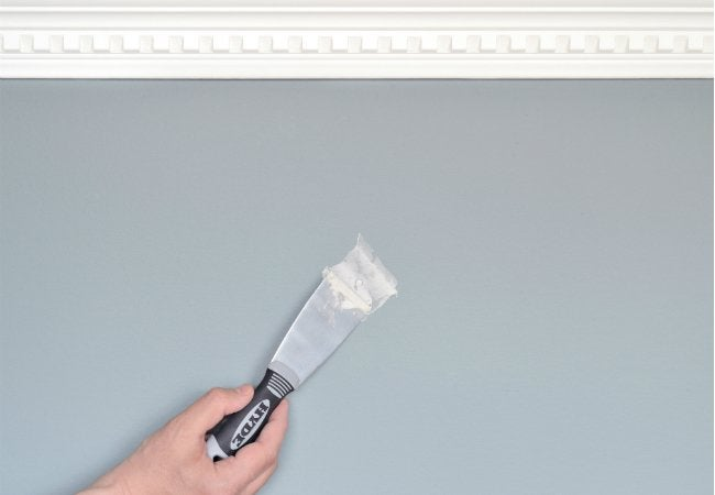 """How to Fix Nail Holes with a HYDE® 2"""" SuperFlexx Stainless Steel Putty Knife"""
