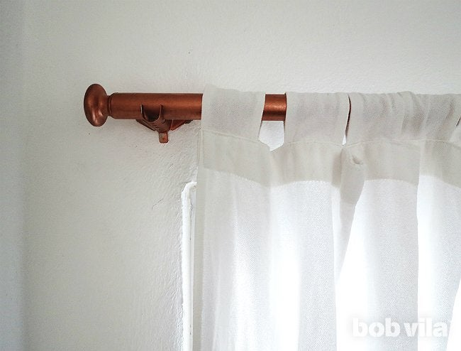 DIY Curtain Rods - Step 4