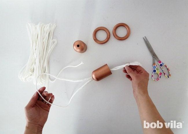 DIY Curtain Rods - Step 5