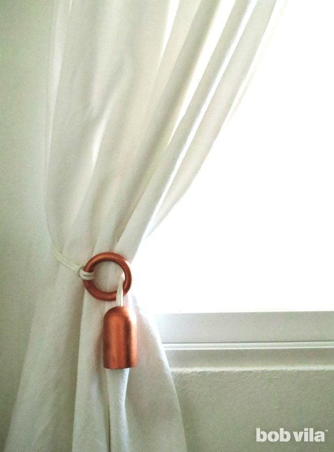 DIY Curtain Rods - Step 8