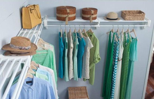 EZ Shelf Walk-In Closet Kit
