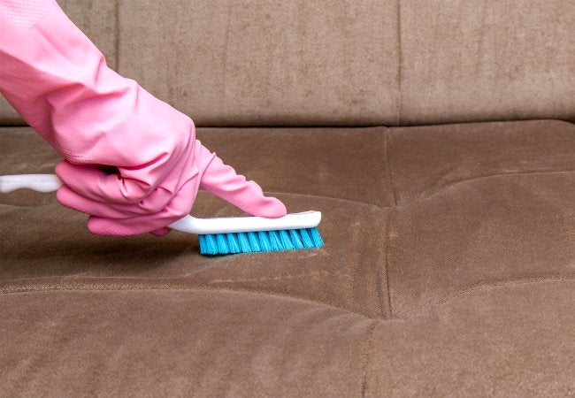 How to Clean Upholstery of Dirt