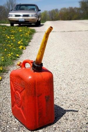 ¿Cómo se deshace de la gasolina?