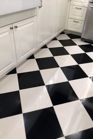 All You Need to Know About Painting Tile Floors