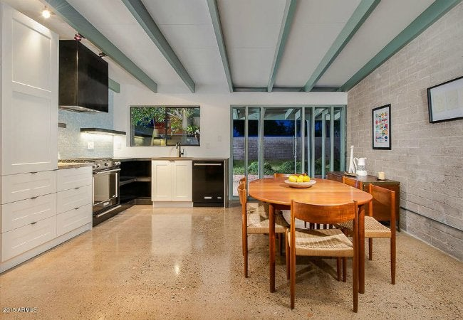 Terrazzo Floors in a Basement or Kitchen