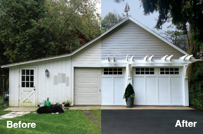 One Garage's Curb Appeal Makeover