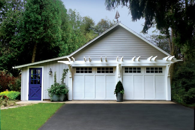 """Garage Curb Appeal """"After"""" Picture"""