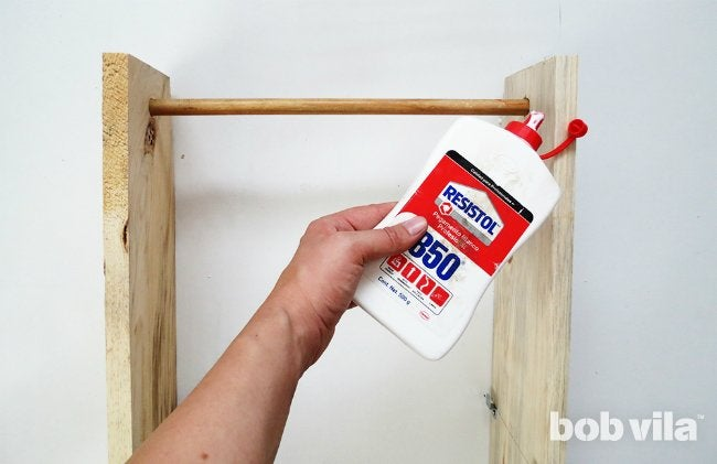 How to DIY a Ladder Plant Stand - Step 7