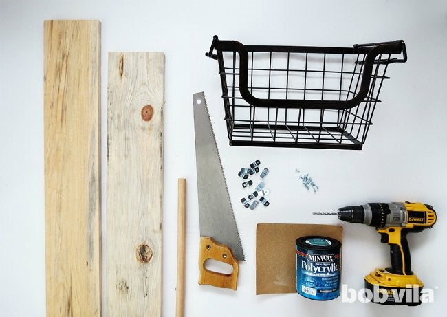How to Make a Ladder Plant Stand - Supplies