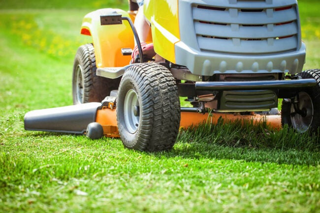 Mowing Wet Grass Cutting Wet Grass Can Damage the Lawn