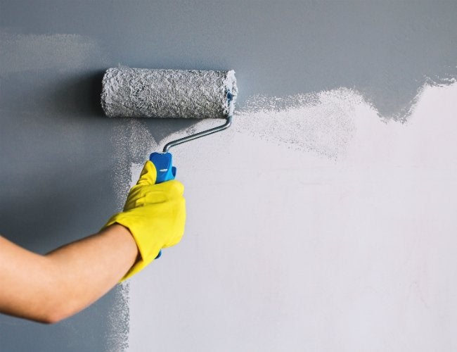 How to Paint a Wall with Just 4 Tools