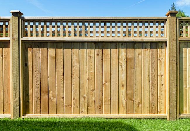 Wood Fence Types