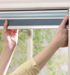 Installing Simple Fit Pop-In Shades from Blindsgalore