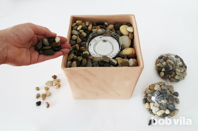 How to Make Your Own Tabletop Fire Pit - Step 6