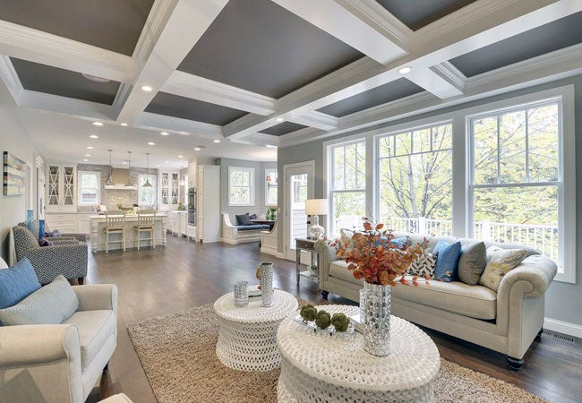 All You Need to Know About Coffered Ceilings