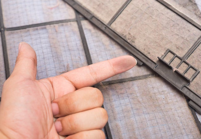 How To Clean An AC Filter