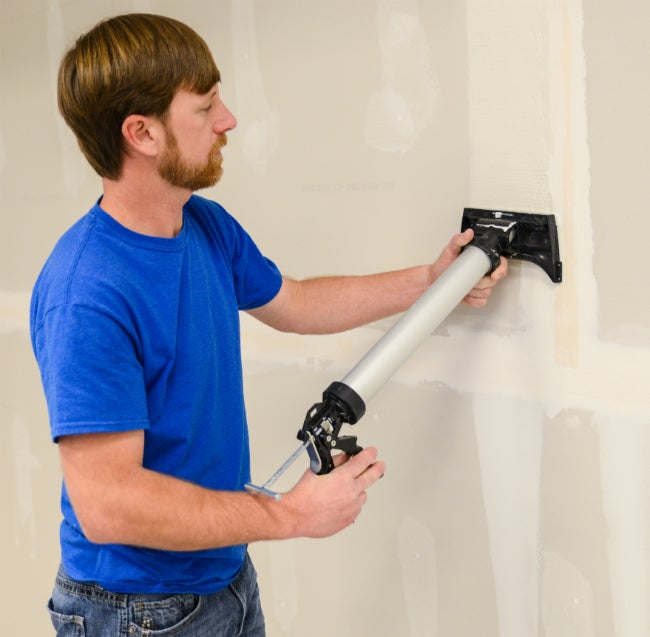 Finally, An Easier Way to Tape Drywall