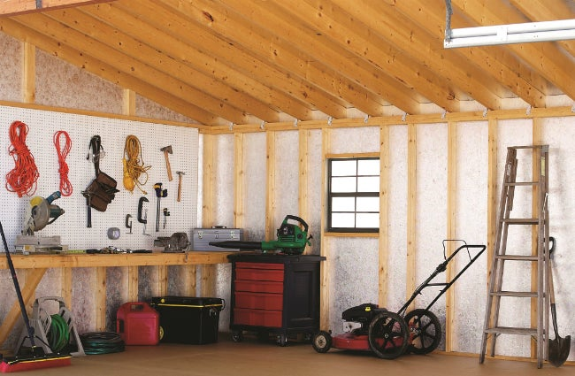 How to Build a Workshop in a Shed