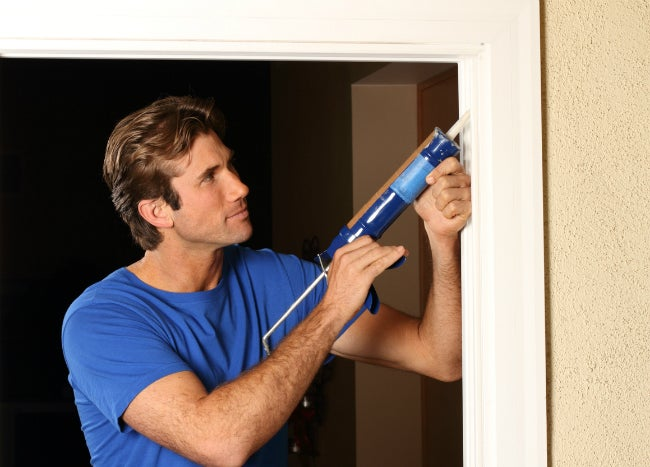 How to Soundproof a Door with Caulk
