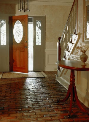 Why You Should Consider Brick Floors in Your Entryway