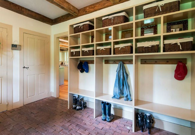 Why You Should Consider Brick Floors in Your Mudroom