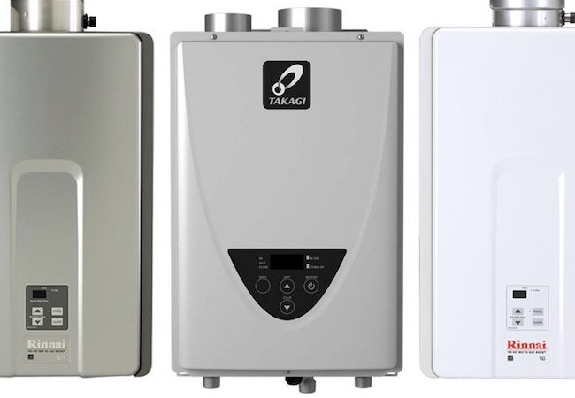 Tankless Water Heater Options
