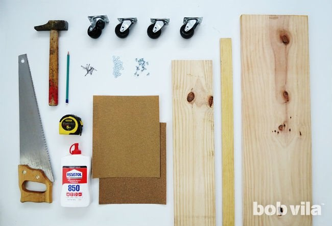 All You Need to Make a DIY Rolling Cart